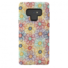 Galaxy Note 9  RAINBOW FLORAL by  (RAINBOW,FLORAL,COLORFUL ,HAPPY)