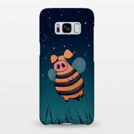Galaxy S8+  Bumblepig by Mangulica