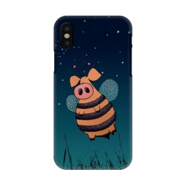 iPhone X  Bumblepig by Mangulica