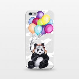 iPhone 5/5E/5s  Aviator Panda by gingerlique