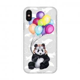 iPhone X  Aviator Panda by gingerlique