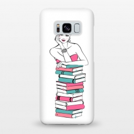 Galaxy S8+  Lady Bookworm by Martina