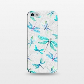 iPhone 5/5E/5s  Dragonfly Paisley by gingerlique