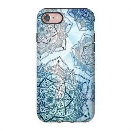 iPhone 8/7  Blue mandalas by Jms