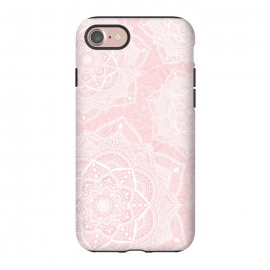 iPhone 8/7  Pink mandalas by Jms
