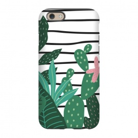 iPhone 6/6s   Tropical Summer Lines by ArtPrInk