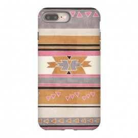 Orange & Pink Aztec Tribal by Tangerine-Tane