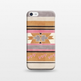 iPhone 5C  Orange & Pink Aztec Tribal by Tangerine-Tane