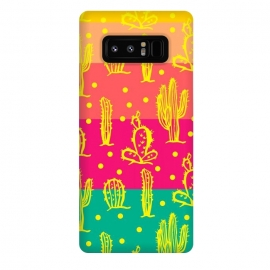 Galaxy Note 8  Cactus in Luminous Tones by Rossy Villarreal