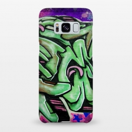 Galaxy S8+  Green Graffiti by Andrea Haase