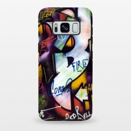 Galaxy S8 plus  Graffiti Street Art Typo by