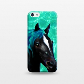 iPhone 5C  Horse Spirit Water Dream by BluedarkArt