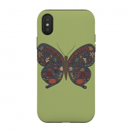 iPhone Xs / X  Butterfly by Merveilleux Clement