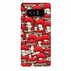 Galaxy Note 8  The red mushrooms by Steve Wade (Swade)