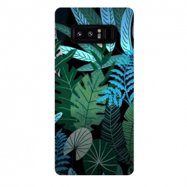 Galaxy Note 8  Tropical Jungle at Night- Eve's Jungle by Utart