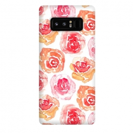 Galaxy Note 8  Rows of Roses  by