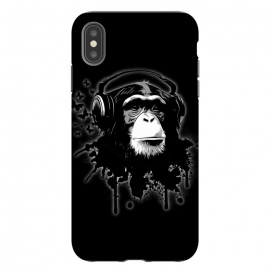 iPhone Xs Max  Monkey Business - Black by Nicklas Gustafsson