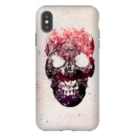 iPhone Xs Max  Floral Skull by Ali Gulec ()
