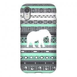 iPhone Xr  Tiffany Elephant Aztec by  ()