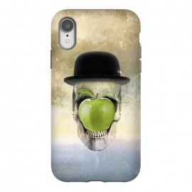 iPhone Xr  Magritte Skull by  ()
