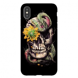 iPhone Xs Max  Snake and Skull by Nicebleed