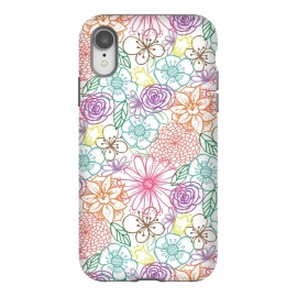 iPhone Xr  Bright Floral by TracyLucy Designs ()