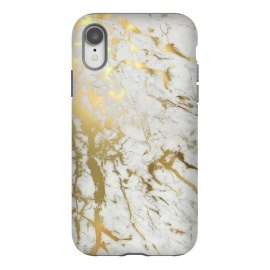 iPhone Xr  Gold Marble by M.O.K.