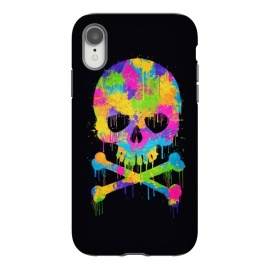 iPhone Xr  Grafitti Watercolor Skull by  ()