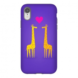 iPhone Xr  Couple in Love Purple by Philipp Rietz