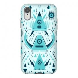 iPhone Xr  Triangle Alien Transformer by  ()