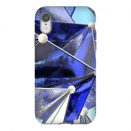 iPhone Xr  Blue Glass by Adoryanti ()