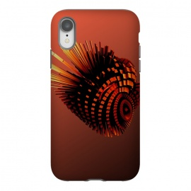 iPhone Xr  Your Bronze Cyborg Heart by Adoryanti ()