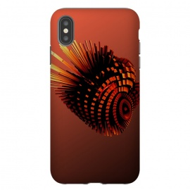 iPhone Xs Max  Your Bronze Cyborg Heart by Adoryanti ()