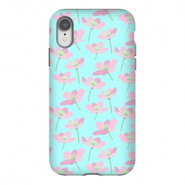 iPhone Xr  Pastel Floral by Leska Hamaty ()