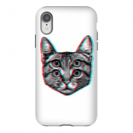 iPhone Xr  3D Cat by Mitxel Gonzalez