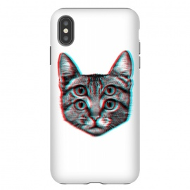 iPhone Xs Max  3D Cat by Mitxel Gonzalez (cat,pussy,feline,cats,meow,miau,gato,3d)