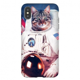 iPhone Xs Max  Astronaut Cat  by Mitxel Gonzalez ()