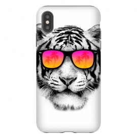 iPhone Xs Max  The Coolest Tiger by Mitxel Gonzalez (tiger,cool, tigre,beach,summer,coolest,funny,big cat,cat)