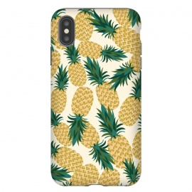 iPhone Xs Max  Pineapples by Laura Grant ()