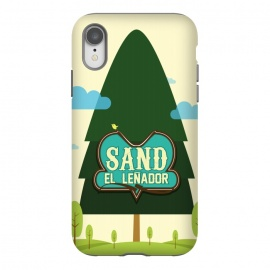 iPhone Xr  Sand The Woodcutter by Alejandro Orjuela ()