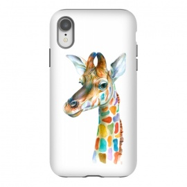 iPhone Xr  Colorful Giraffe by Brandon Keehner ()
