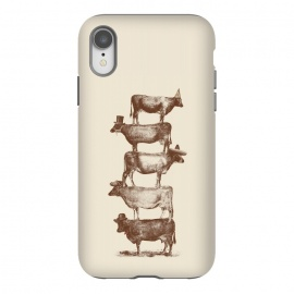 iPhone Xr  Cow Cow Nuts by Florent Bodart ()