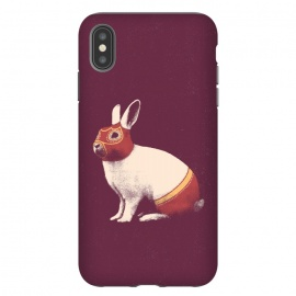 iPhone Xs Max  Rabbit Wrestler SQUARE by Florent Bodart ()