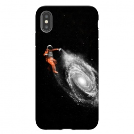 iPhone Xs Max  Space Art by Florent Bodart ()