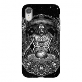 iPhone Xr  Winya 104 by Winya (three wise monkeys,illuminati,zionism,greedy,surreal,neo traditional,bomb,world,earth,star,space,sheep,tree,gas mask,gothic,demon,christian,jesus,satan,horror,skeleton,art line,popular,baroque,black and white,sacred geometry,death ,dead,skull,tattoo,hell,fantasy,mystical,dark,monster,spirit,immortal)
