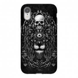 iPhone Xr  Winya 44 by Winya (lion,king,animal,leo,forest,guardian,big tiger,spirit,lion hearted,god,lion face,popular,best seller,awesome,death,dead,line work,baroque,art line,tattoo design,tattoo,skull,horror,pop culture,nature,dark,great,epic,halloween,indian,bone,canine,feather,amulets,charm,arrow,tongue,shaman,sorcerer,ghos)