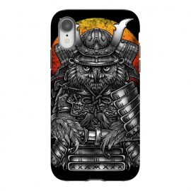iPhone Xr  Winya 63 by Winya (ronin,martial,katana,bushido,tattoo art,bird,owl,samurai,war,dark,art line,horror,animal,line work,spaulder,fighter,warrior,japan,suit of armor,hip ster,fantasy,monster,spirit,pop culture,surrealism,protective mask workwear,face guard sport,mask disguise,emperor,japanese culture,sword,ancient,cultur)