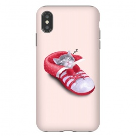 iPhone Xs Max  Cat in The Shoe by Tummeow ()