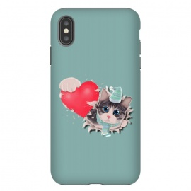 iPhone Xs Max  Cat Steal your Heart by Tummeow ()