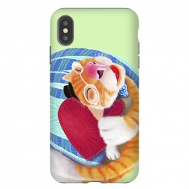 iPhone Xs Max  Sleep With Heart by Tummeow